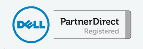 Dell partner logo.